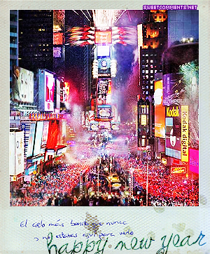 Polaroid New Year picture